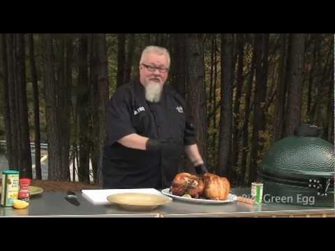 Dr BBQ Holiday Turkey on the Big Green Egg