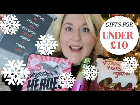 GIFTS FOR £10 AND UNDER