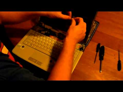 Laptop screen replacement / How to replace laptop screen Acer Aspire 4720Z