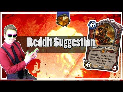 Hearthstone: Reddit Suggestion