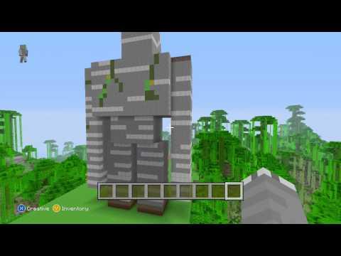Minecraft Xbox 360 Edition Iron Golem Statue