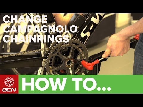 How To Change Campagnolo Chainrings - GCN's Maintenance Mondays