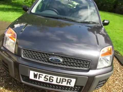 Ford Fusion 1.4TDCi Diesel Style (Only £30 Road Tax). (Full Ford History). £2495.00