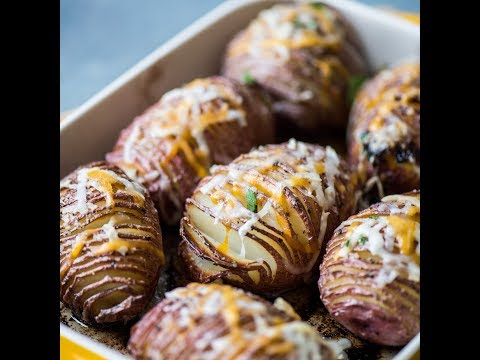 Hasselback Potatoes - The Tuber just got Fancy!