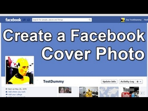 [Photoshop Tutorial- Easily Create A Facebook Cover Photo Banner - Cover Photo Dimensions