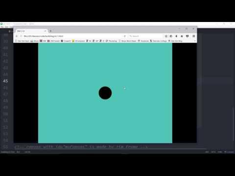 ZIM Bubbling: 24. Ticker - #HTML #Canvas #JavaScript, #CreateJS, #ZIMjs