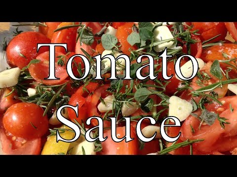 Tomato Sauce with Herbs, Garlic & Red Wine