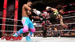The Usos vs. Big E & Kofi Kingston: Raw, January 11, 2016