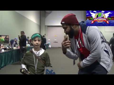 Retro GameCon 2016 Young Link Cosplay Interview