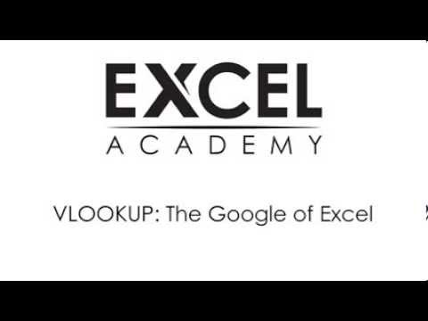 VLOOKUP - The Google of Excel