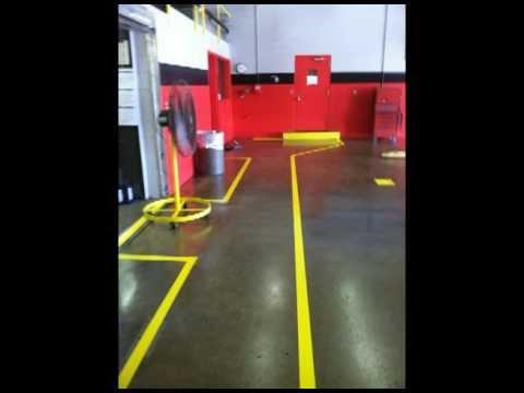 Paint A Fleet Mechanic Shop,  Joe Pullaro Inc