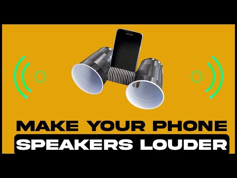 How To Make an IPhone Speaker SUPER LOUD