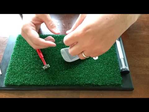 Golf Club Groove Sharpener - how to use your 6-head Groove Sharpener