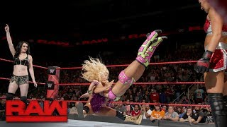 Paige, Mandy Rose and Sonya Deville lay out Sasha Banks: Raw, Nov. 27, 2017