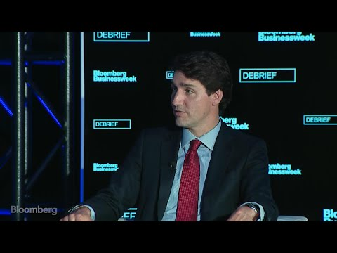 Canada's Trudeau Says U.S. Debt Is 'Not Sustainable'