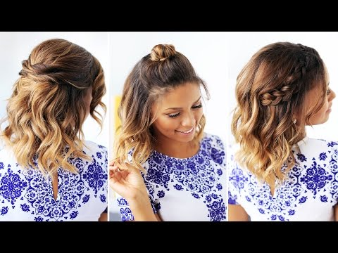 3 Easy Hairstyles for Short Hair