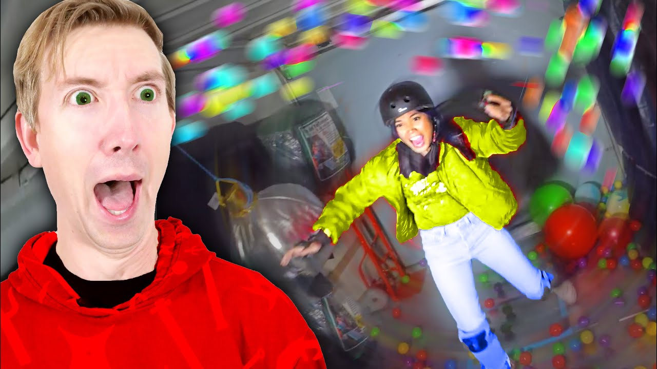 Can You Survive the Chaos Simulator? Spy Ninjas vs Moving Uhaul Truck Challenge!