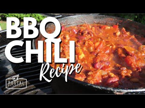 BBQ Chili Recipe - How To Make Chili On The BBQ