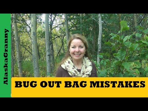 Bug Out Bag Mistakes Where Are Your Emergency Supplies