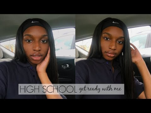 HIGH SCHOOL GET READY WITH ME! ft. Longqi Hair | Coco Chinelo