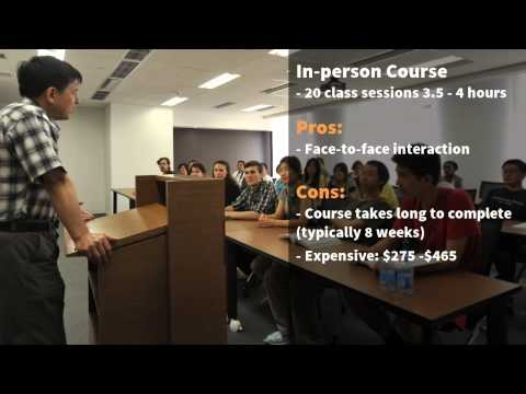 Step 1 - Take 75 hour NYS Salesperson Licensing Course