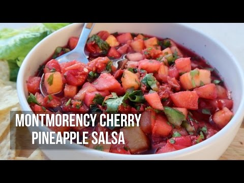 Montmorency Cherry Pineapple Salsa | Jelly Toast