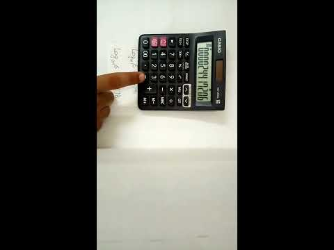 HOW TO FIND LOG WITH A SIMPLE CALCULATOR IN HINDI