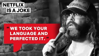 Judah Friedlander: America Is The Greatest Country In The US   England vs. The World [HD]   Netflix