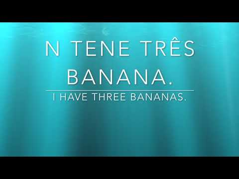 Learn Kabuverdianu ( Cape Verdean Creole ) Word of the Day - TENE
