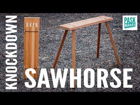Knockdown Sawhorse
