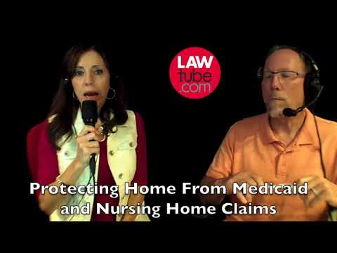 Protecting home from nursing home and medicaid claims
