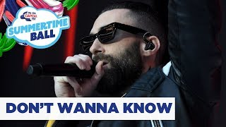 Maroon 5 – 'Don't Wanna Know' | Live at Capital's Summertime Ball 2019