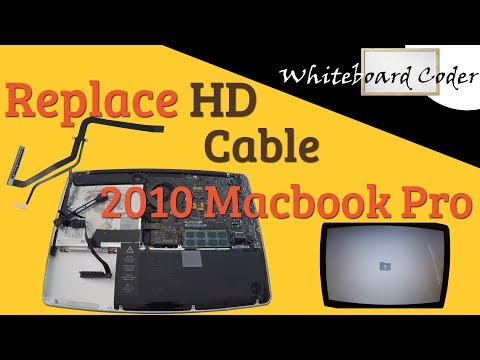 Replace HD cable on 2010 Macbook Pro