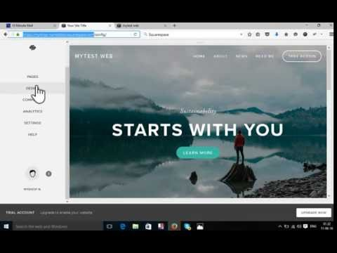 How To Build a free Website Using squarespace   |  free squarespace  website and domain