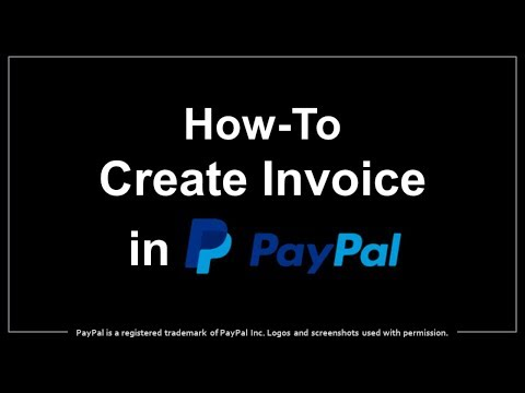 How to Create & Send Invoice in PayPal