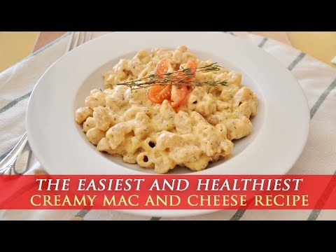 Healthy & Simple Homemade Mac and Cheese Recipe
