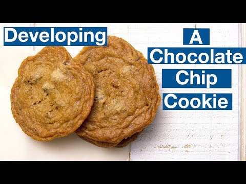 Building A Chocolate Chip Cookie Recipe || Le Gourmet TV Recipes