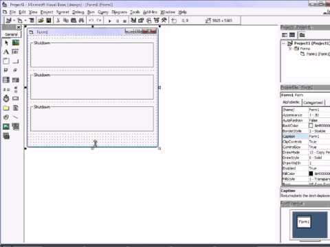 how to make system controls in vb6