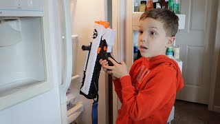 Nerf War:  Hide Your Weapon 2 Behind the Scenes