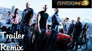 Dhoom 3 Trailer - Fast and Furious Remix
