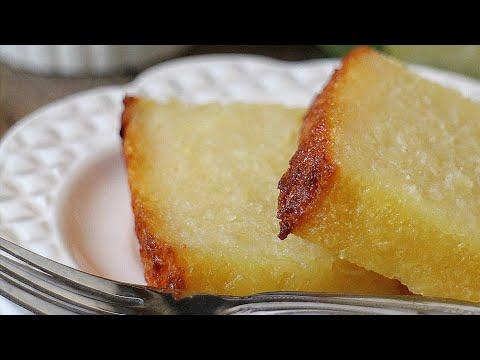 Kuih Bingka Ubi - Baked Tapioca Cake