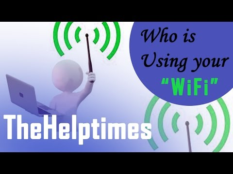 See Who Is Using Your Wifi - How To