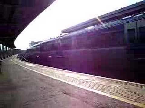 C3k Train leaving Belfast Central