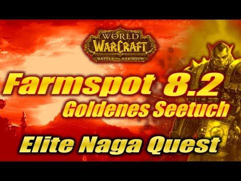 Xxx Mp4 Gilded Seaweave Goldenes Seetuch Farmspot WoW BFA 8 2 Gold Guide Elite Naga Quest 3gp Sex