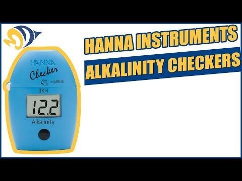 Hanna Instruments Alkalinity Checker Product Demo