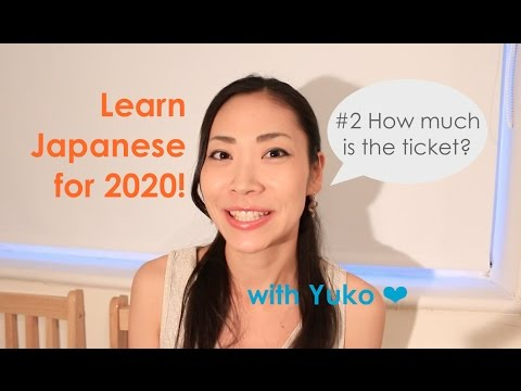 Learn Japanese for Tokyo2020 #2