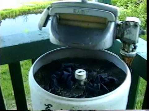 Gasoline Powered Washing Machine
