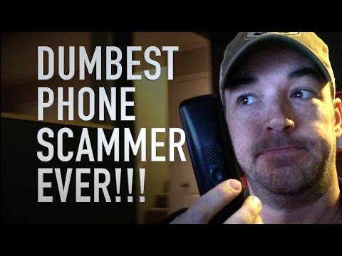 Angry Phone Scammer Makes Threats That Make Me Laugh
