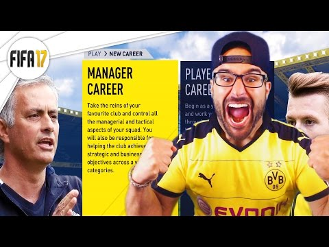 FIFA 17 CAREER MODE NEW MANAGER MODE!