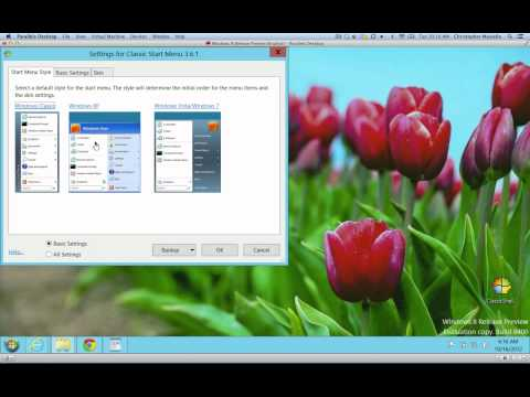 Fixing Windows 8 - How to Add a Start Button